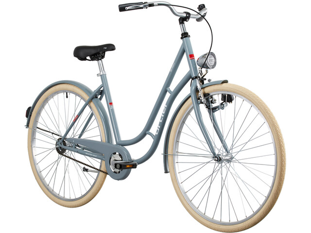 Ortler Detroit Citybike grå (2019) | City-cykler
